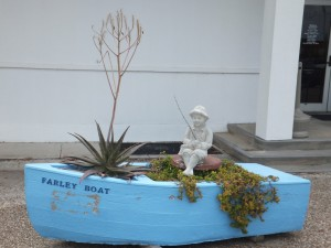 These little Farley Boats are found all around town.